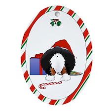 Pembroke Welsh Corgi Christmas Oval Ornament