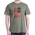 USA Peace Flag - Retro Dark T-Shirt $5 off