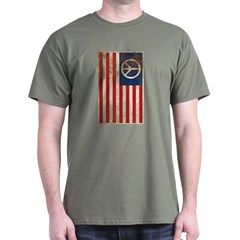 USA Peace Flag - Retro T-Shirt $5 off