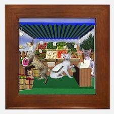 Devon Country Fair Produce Framed Tile