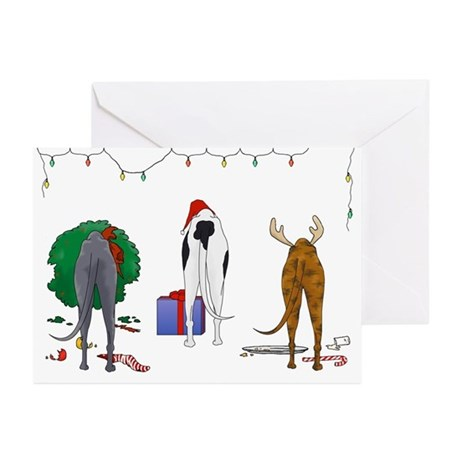 Greyhound Greeting Cards (Pk of 10)