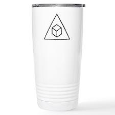 Delta Cubes Travel Coffee Mug