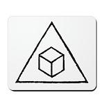 Delta Cubes Mousepad