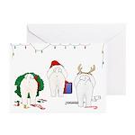 Bichon Frise Christmas Cards (Pk of 10)