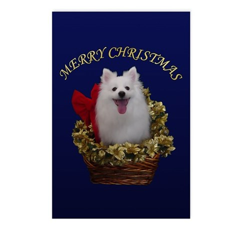 American Eskimo Dog Postcards (Package of 8)