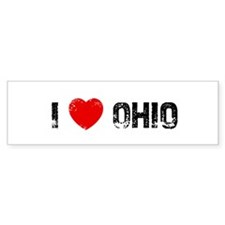 I * Ohio Bumper Bumper Sticker