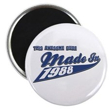 Made in 1988 Magnet