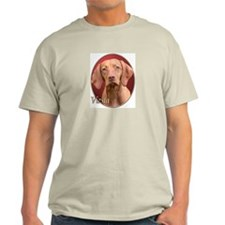 Vizsla (Red) Ash Grey T-Shirt
