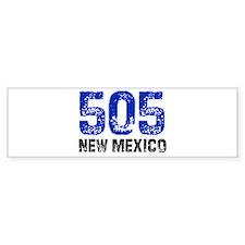 505 Bumper Car Sticker