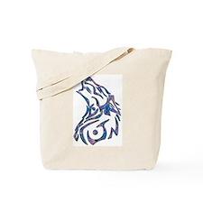Tribal Wolf Art 9 Tote Bag