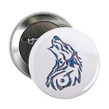 "Tribal Wolf Art 9 2.25"" Button (10 pack)"