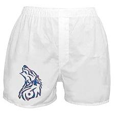 Tribal Wolf Art 9 Boxer Shorts
