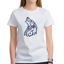 Tribal Wolf Art 9 Tee