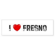 I * Fresno Bumper Bumper Sticker