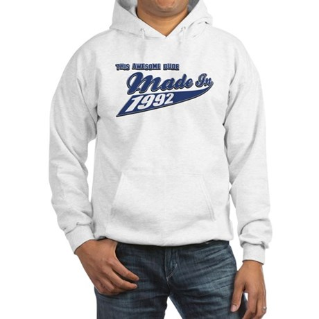Made in 1992 Hooded Sweatshirt