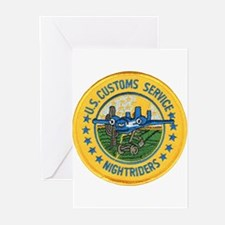 Customs Nightriders Greeting Cards (Pk of 10)