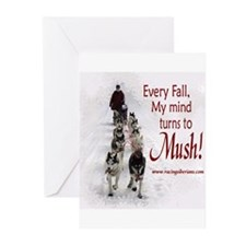 Mush! Greeting Cards (Pk of 10)