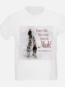 Mush! Kids T-Shirt