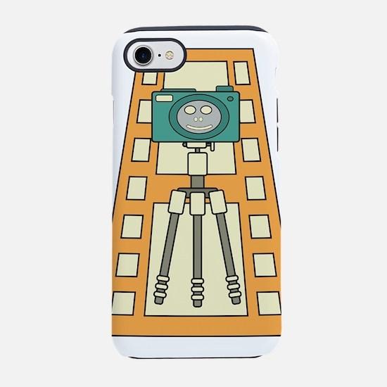Funny photographer kawaii Smil iPhone 7 Tough Case