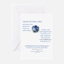 Trust In The Lord1 Greeting Cards #2 (Pk of 10)