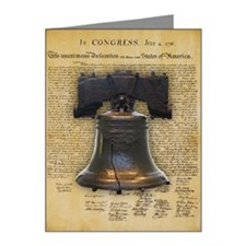 Liberty Bell and the Declara Note Cards (Pk of 20)