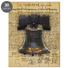 Liberty Bell and the Declaration of Indepen Puzzle