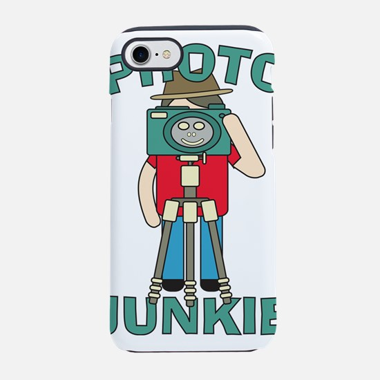 Funny photographer Photo Junki iPhone 7 Tough Case