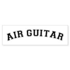 Air Guitar Bumper Bumper Sticker