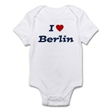 I HEART BERLIN Infant Bodysuit