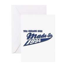 Made in 1994 Greeting Card