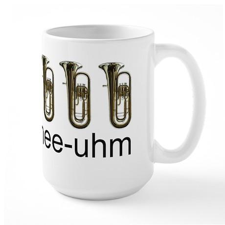 Euphonium Wraparound Photo Large Mug