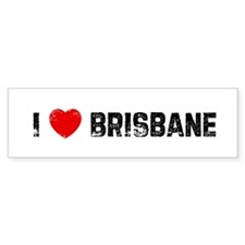 I * Brisbane Bumper Car Sticker