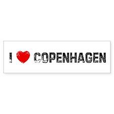 I * Copenhagen Bumper Bumper Sticker