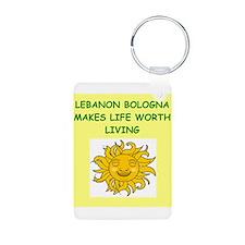 lebanon bologna Keychains