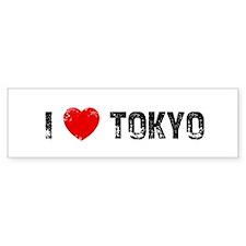 I * Tokyo Bumper Bumper Sticker