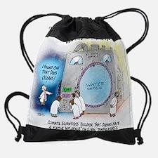 Climate Control T Shirt Drawstring Bag