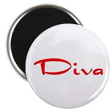 """Diva"" Magnet"