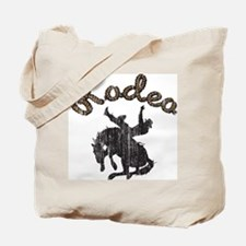 Retro Rodeo Tote Bag