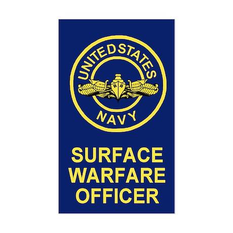 Surface Warfare Officer <BR>Sticker