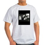 Tree Ocean Vista Ash Grey T-Shirt