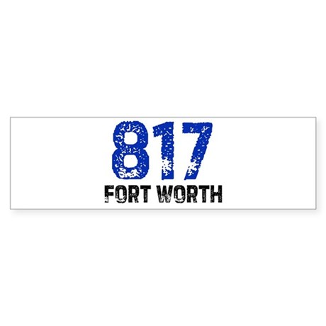 817 Bumper Sticker
