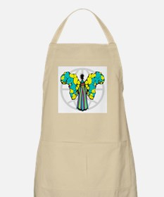 African Butterfly BBQ Apron