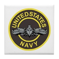 Surface Warfare Enlisted <BR>Tile Coaster