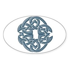 Celtic Knot 8 Oval Decal
