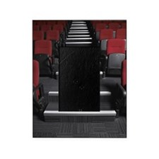 Long row of stairs  in theatre. Picture Frame