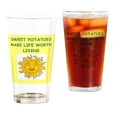 SWEET potatoes Drinking Glass
