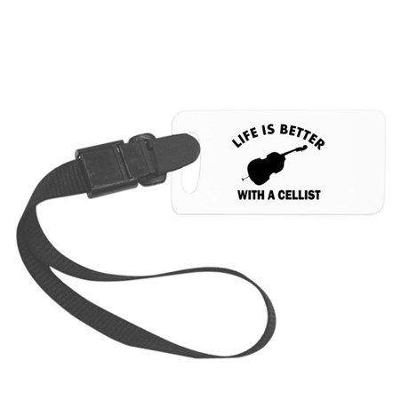 Cellist designs Small Luggage Tag