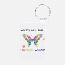 Autism Awareness Butterfly Keychains