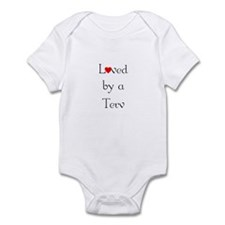 Loved by a Terv <br> Infant Bodysuit