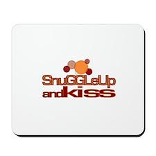 Snuggle Up & Kiss Mousepad